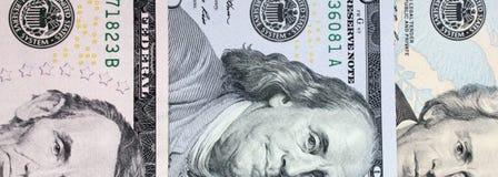 Υπόβαθρο των χρημάτων (στενός επάνω του λογαριασμού δολαρίων) Στοκ εικόνα με δικαίωμα ελεύθερης χρήσης
