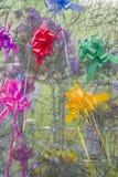 Υπόβαθρο των χρωμάτων των κορδελλών Στοκ Εικόνα