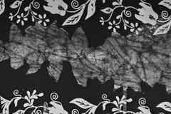 Υπόβαθρο υφάσματος μπατίκ Στοκ εικόνα με δικαίωμα ελεύθερης χρήσης