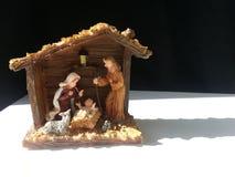 Υπόβαθρο φατνών Nativity Στοκ Φωτογραφία