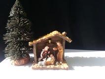 Υπόβαθρο φατνών Nativity Στοκ εικόνα με δικαίωμα ελεύθερης χρήσης