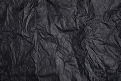 Υπόβαθρο φιαγμένο από μαύρο έγγραφο Στοκ φωτογραφίες με δικαίωμα ελεύθερης χρήσης