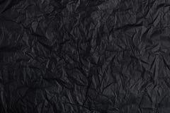 Υπόβαθρο φιαγμένο από μαύρο έγγραφο Στοκ φωτογραφία με δικαίωμα ελεύθερης χρήσης