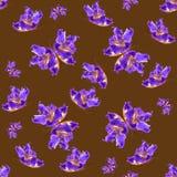 Υπόβαθρο φιαγμένο από πεταλούδες των διάφορων λουλουδιών Στοκ φωτογραφίες με δικαίωμα ελεύθερης χρήσης