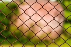 Υπόβαθρο φρακτών καλωδίων Στοκ φωτογραφία με δικαίωμα ελεύθερης χρήσης