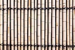 Υπόβαθρο φρακτών μπαμπού Στοκ Φωτογραφίες