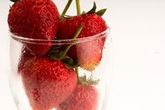 Υπόβαθρο φραουλών στοκ φωτογραφία