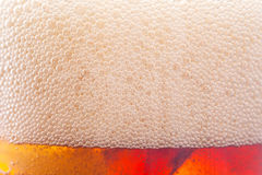 Υπόβαθρο φυσαλίδων από το μη αλκοολούχο ποτό με τον πάγο Στοκ εικόνα με δικαίωμα ελεύθερης χρήσης
