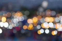 Υπόβαθρο φωτεινών σηματοδοτών πόλεων νύχτας bokeh Στοκ φωτογραφίες με δικαίωμα ελεύθερης χρήσης