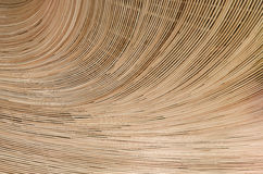 Υπόβαθρο φύσης του καφετιού surfa ινδικού καλάμου σύστασης ύφανσης βιοτεχνίας Στοκ Εικόνες
