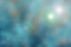 Υπόβαθρο φύσης Blured με τον μπλε τόνο Στοκ Εικόνες