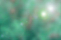 Υπόβαθρο φύσης Blured με τον πράσινο μπλε τόνο Στοκ φωτογραφία με δικαίωμα ελεύθερης χρήσης
