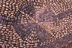 Υπόβαθρο χαλικιών βράχου ποταμών στο πάτωμα Στοκ φωτογραφίες με δικαίωμα ελεύθερης χρήσης