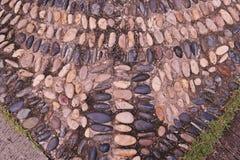 Υπόβαθρο χαλικιών βράχου ποταμών στο πάτωμα Στοκ Εικόνα
