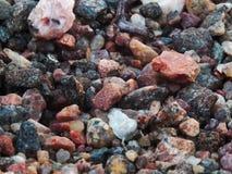 Υπόβαθρο χαλικιών βράχου Στοκ Φωτογραφία
