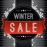 Υπόβαθρο χειμερινής πώλησης Στοκ Εικόνες