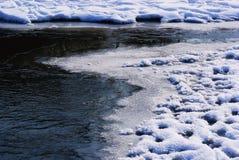 Υπόβαθρο χειμερινής σύστασης χιονιού πάγου Στοκ φωτογραφίες με δικαίωμα ελεύθερης χρήσης