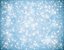 Υπόβαθρο χειμερινών Χριστουγέννων Στοκ Φωτογραφίες