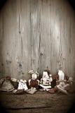 Υπόβαθρο Χριστουγέννων Άγιου Βασίλη Στοκ φωτογραφία με δικαίωμα ελεύθερης χρήσης