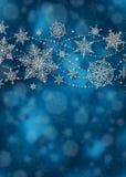 Υπόβαθρο Χριστουγέννων - απεικόνιση Στοκ Φωτογραφίες