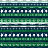 Υπόβαθρο Χριστουγέννων για το τυλίγοντας έγγραφο, κλωστοϋφαντουργικό προϊόν, συσκευασία διανυσματική απεικόνιση