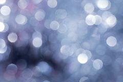 Υπόβαθρο Χριστουγέννων με τα φω'τα θαμπάδων στοκ εικόνα με δικαίωμα ελεύθερης χρήσης