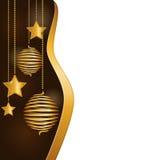 Υπόβαθρο Χριστουγέννων με τις σπειροειδείς σφαίρες ελεύθερη απεικόνιση δικαιώματος