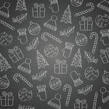 Υπόβαθρο Χριστουγέννων πινάκων απεικόνιση αποθεμάτων