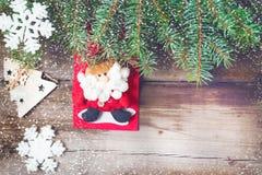 Υπόβαθρο 2018 Χριστουγέννων Στοκ εικόνα με δικαίωμα ελεύθερης χρήσης