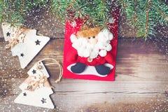Υπόβαθρο 2018 Χριστουγέννων Στοκ Εικόνες