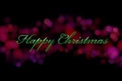 Υπόβαθρο Χριστουγέννων Στοκ Φωτογραφία