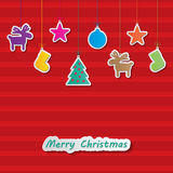 Υπόβαθρο Χριστουγέννων Στοκ Εικόνες