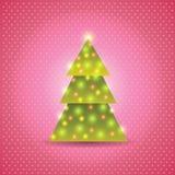 Υπόβαθρο χριστουγεννιάτικων δέντρων Στοκ φωτογραφίες με δικαίωμα ελεύθερης χρήσης
