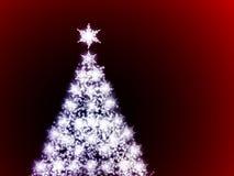 Υπόβαθρο χριστουγεννιάτικων δέντρων Στοκ Εικόνες