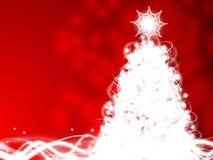Υπόβαθρο χριστουγεννιάτικων δέντρων Στοκ φωτογραφία με δικαίωμα ελεύθερης χρήσης