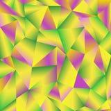 Υπόβαθρο χρώματος τριγώνων Στοκ φωτογραφία με δικαίωμα ελεύθερης χρήσης