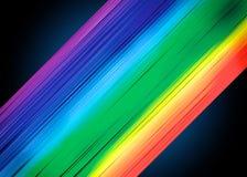 Υπόβαθρο λωρίδων χρώματος ουράνιων τόξων Στοκ Φωτογραφία