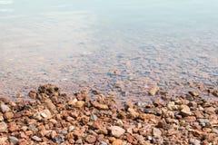 Υπόβαθρο όχθεων ποταμού Στοκ Εικόνες