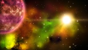 Υπόβαθρο Astro βρόχος απεικόνιση αποθεμάτων