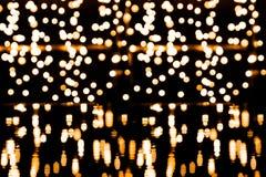 Υπόβαθρο Bokeh με πολλά ελαφριά μόρια Στοκ φωτογραφία με δικαίωμα ελεύθερης χρήσης
