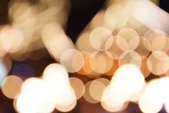 Υπόβαθρο Bokeh νύχτας πόλεων Στοκ εικόνες με δικαίωμα ελεύθερης χρήσης
