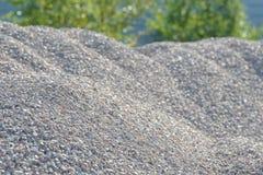 Υπόβαθρο Breakstone Οδικό αμμοχάλικο Σύσταση αμμοχάλικου συντριμμένο αμμοχάλικο Σωροί των βράχων ασβεστόλιθων Πέτρες σπασιμάτων σ στοκ φωτογραφία