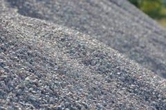 Υπόβαθρο Breakstone Οδικό αμμοχάλικο Σύσταση αμμοχάλικου συντριμμένο αμμοχάλικο Σωροί των βράχων ασβεστόλιθων Πέτρες σπασιμάτων σ στοκ φωτογραφίες