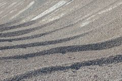 Υπόβαθρο Breakstone Οδικό αμμοχάλικο Σύσταση αμμοχάλικου συντριμμένο αμμοχάλικο Σωροί των βράχων ασβεστόλιθων Πέτρες σπασιμάτων σ στοκ εικόνες με δικαίωμα ελεύθερης χρήσης
