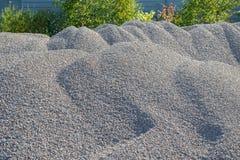 Υπόβαθρο Breakstone Οδικό αμμοχάλικο Σύσταση αμμοχάλικου συντριμμένο αμμοχάλικο Σωροί των βράχων ασβεστόλιθων Πέτρες σπασιμάτων σ στοκ φωτογραφίες με δικαίωμα ελεύθερης χρήσης
