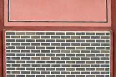 Υπόβαθρο Brickwall Στοκ φωτογραφίες με δικαίωμα ελεύθερης χρήσης