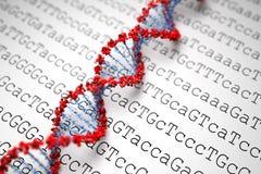 Υπόβαθρο DNA απεικόνιση αποθεμάτων