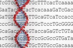 Υπόβαθρο DNA ελεύθερη απεικόνιση δικαιώματος
