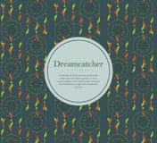 Υπόβαθρο Dreamcatcher Στοκ Φωτογραφία