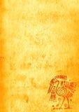 Υπόβαθρο Grunge με τα αμερικανικά ινδικά παραδοσιακά σχέδια Στοκ εικόνες με δικαίωμα ελεύθερης χρήσης